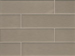 Manhattan Glass Subway Brick Plank - 4 X 16 Madison - Matte Frost Finish