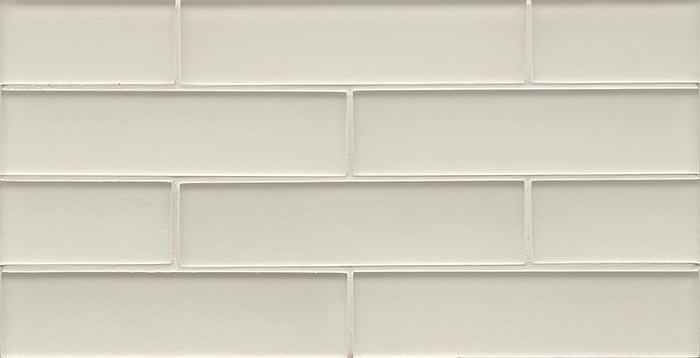 Manhattan Gl Subway Brick Mosaic 2 X 8 Pearl Matte Frost Finsh