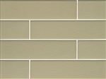 Manhattan Glass Subway Brick Plank - 4 X 16 Pistachio - Matte Frost Finish