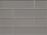 Manhattan Glass Subway Brick Plank - 4 X 16 Platinum  - Gloss Finish