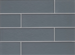 Manhattan Glass Subway Brick Plank - 4 X 16 Subway - Matte Frost Finish