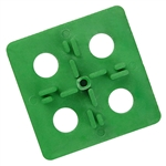 ATR Tile Leveling Alignment System - 3 mm Cross Spacers -150 Pcs - DIY Level Tile Installation