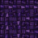 Nova Arte - 1X1 Purple - Deco MIx of Gloss and Frosted Glass Tile Mosaic