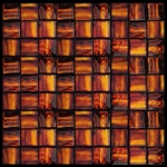 Nova Arte - 1X1 Orange - Deco MIx of Gloss and Frosted Glass Tile Mosaic