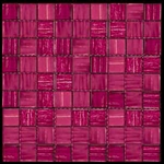 Nova Arte - 1X1 Pink - Deco MIx of Gloss and Frosted Glass Tile Mosaic