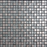 Nova Futura - Ice Gloss Metallic - 5/8 X 5/8 Glass Mosaic Tile