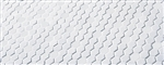 American Olean Satinglo - White Hexagon - 1 inch Hexagon Glazed Porcelain Tile