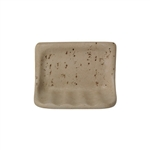 American Olean - BA725 Soap Dish - Resin Faux Stone Bath Accessory - Noce Travertine Color