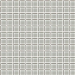 American Olean Color Appeal Glass - C102 Silver Cloud - 1X1 Glass Tile Mosaic - Glossy
