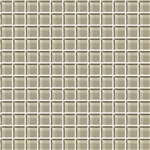 American Olean Color Appeal Glass - C103 Oxford Tan - 1X1 Glass Tile Mosaic - Glossy