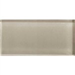 American Olean Color Appeal Glass - C103 Oxford Tan - 3X6 Brick Subway Glass Tile - Glossy