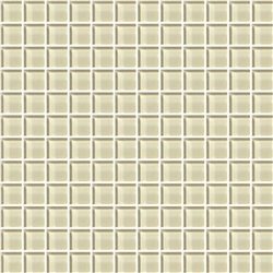 American Olean Color Appeal Glass - C104 Cloud Cream - 1X1 Glass Tile Mosaic - Glossy