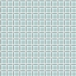 American Olean Color Appeal Glass - C106 Moonlight - 1X1 Glass Tile Mosaic - Glossy