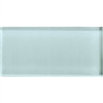 American Olean Color Appeal Glass - C106 Moonlight - 3X6 Brick Subway Glass Tile - Glossy