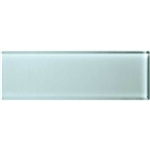 American Olean Color Appeal Glass - C106 Moonlight - 4X12 Subway Glass Tile Plank - Glossy