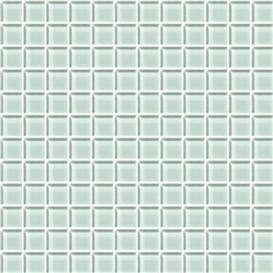 American Olean Color Appeal Glass - C107 Vintage Mint - 1X1 Glass Tile Mosaic - Glossy