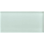 American Olean Color Appeal Glass - C107 Vintage Mint - 3X6 Brick Subway Glass Tile - Glossy