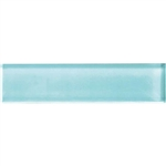 American Olean Color Appeal Glass - C108 Fountain Blue - 2X8 Brick Subway Glass Tile - Glossy