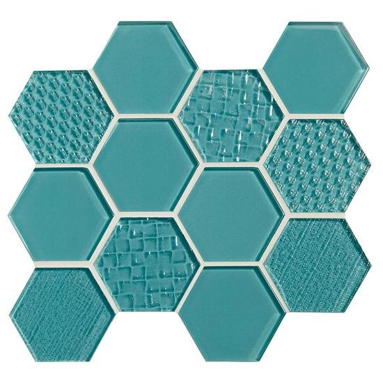 Olean Color Eal Entourage Felicity Hexagon Gl C108