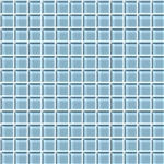 American Olean Color Appeal Glass - C109 Powder - 1X1 Glass Tile Mosaic - Glossy