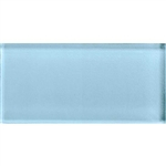American Olean Color Appeal Glass - C109 Powder - 3X6 Brick Subway Glass Tile - Glossy