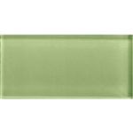 American Olean Color Appeal Glass - C111 Grasshopper - 3X6 Brick Subway Glass Tile - Glossy