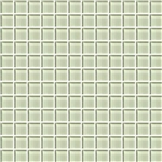 American Olean Color Appeal Glass - C112 Celedon - 1X1 Glass Tile Mosaic - Glossy