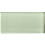 American Olean Color Appeal Glass - C112 Celedon - 3X6 Brick Subway Glass Tile - Glossy