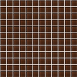 American Olean Color Appeal Glass - C114 Copper Brown - 1X1 Glass Tile Mosaic - Glossy