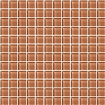 American Olean Color Appeal Glass - C115 Brandied Melon - 1X1 Glass Tile Mosaic - Glossy