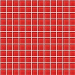 American Olean Color Appeal Glass - C117 Cherry - 1X1 Glass Tile Mosaic - Glossy
