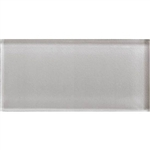 American Olean Color Appeal Glass - C120 Cloudburst - 3X6 Brick Subway Glass Tile - Glossy