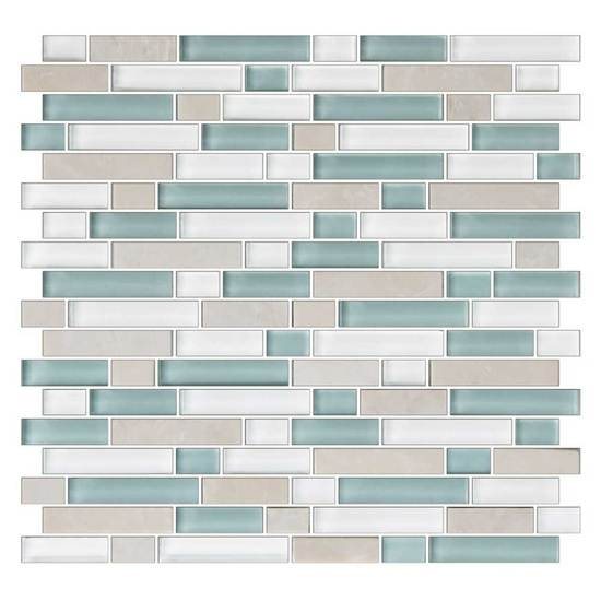 American Olean Color Appeal Blends C Pacific Coast Blend - American olean 4x4 wall tile