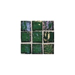 American Olean Solare Glass - SO77 Rainforest - 1 X 1 Clear Iridescent Color Glass Tile Mosaic