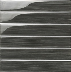 Glass Tile Plank - 2 X 12 Bellavita Bamboo Glass Tile Plank - BP12SM Smoke - Glossy
