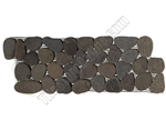 River Rock Pebble Stone Border - Bali Black Interlocking Pebble Liner