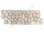 River Rock Pebble Stone Border - Timor White Interlocking Pebble Liner