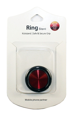 Brushed Ring Holders - Red