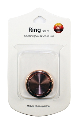 Brushed Ring Holders - Rose Gold