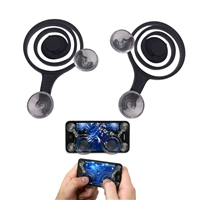 Game Pad Controller for Touch Screen Devices - Black