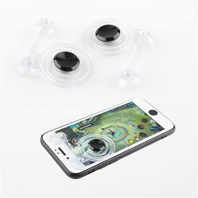 Game Pad Controller for Touch Screen Devices - Clear