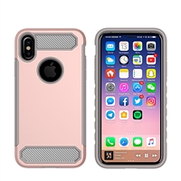 iPhone X CF Armor Case - Rose Gold