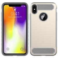 iPhone XS Max CF Armor Case - Gold