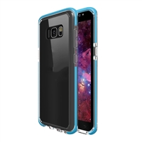 Samsung Galaxy S8 Plus Crystal Case with Color Bumper - Blue