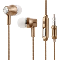 A48 Stereo Headset with Mic. - Gold