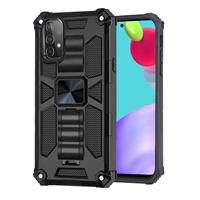 Samsung Galaxy A52 Magnetic Holder / Kickstand Armor Case - Black