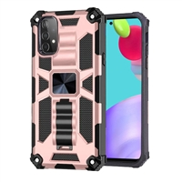 Samsung Galaxy A52 Magnetic Holder / Kickstand Armor Case - Rose Gold