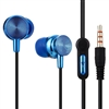 SF-A78 Stereo Earphone with Mic. - Blue