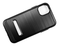 "iPhone 11 6.1"" Armor Case with Magnetic Kickstand - Black"