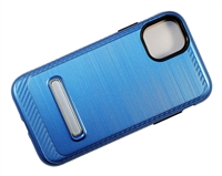 "iPhone 11 Pro Max 6.5"" Armor Case with Magnetic Kickstand - Blue"